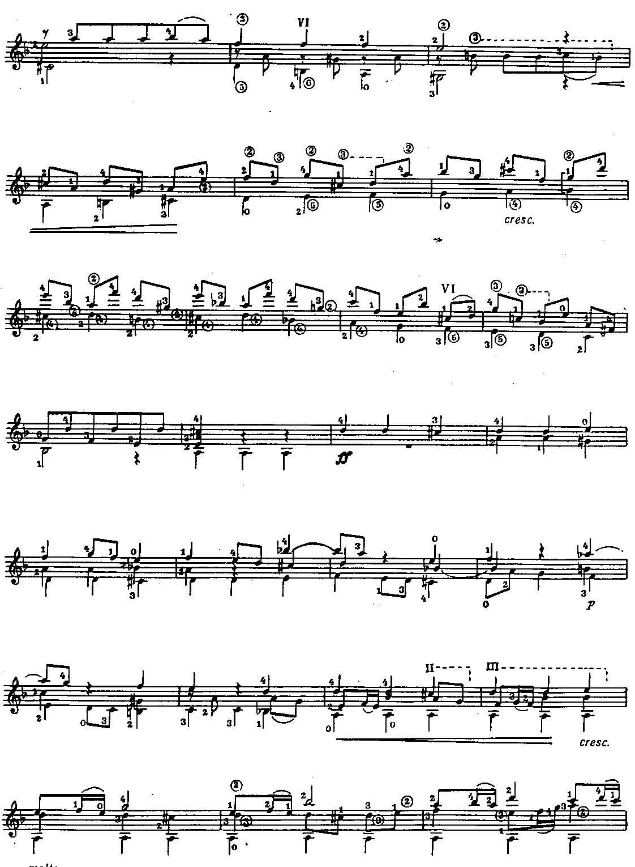 巴赫 九级 赋格 谱子