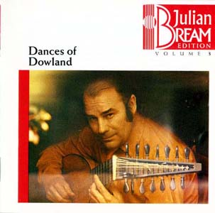 道兰的舞曲(Julian Bream Edition Vol.3: Dances of Dowland)