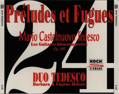 24首前奏曲与赋格,24 Preludes et Fugues(CD1)