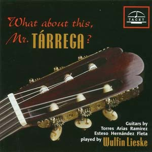 有关泰雷加(What about this MR.TARREGA)